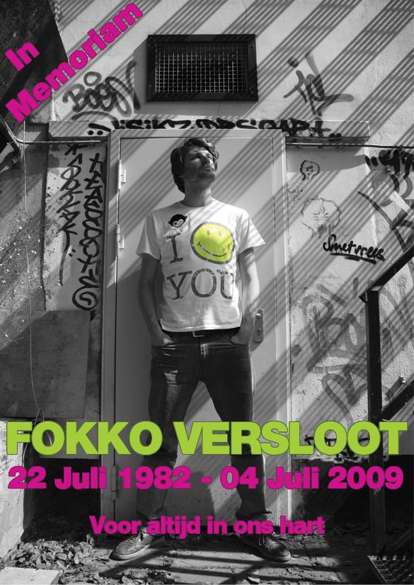 rouwkaart FOKKO voorkant